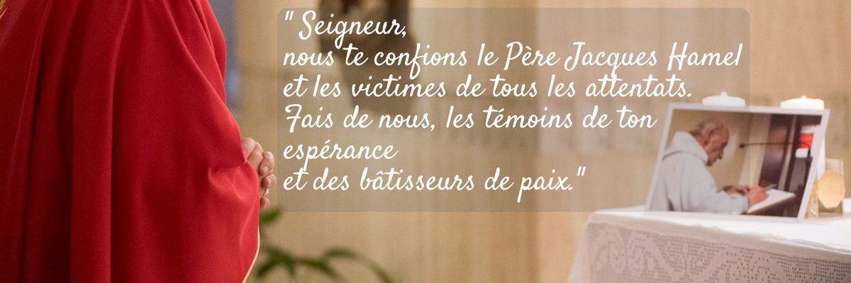 """""""Il y a un an, le Père Jacques Hamel était assassiné"""""""