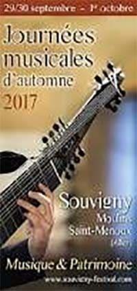 Journées musicales d'automne 2017