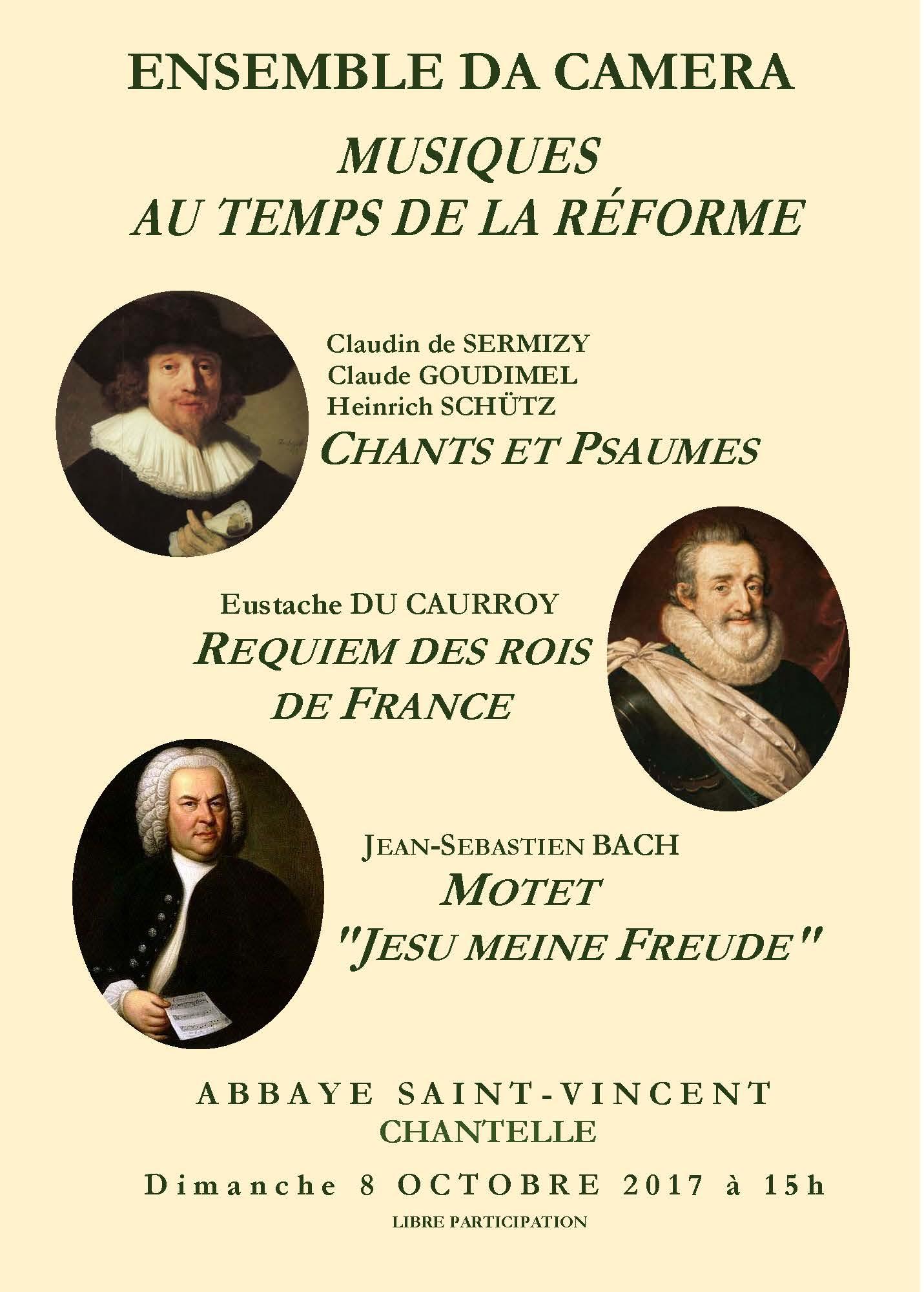 Musiques au temps de la Réforme