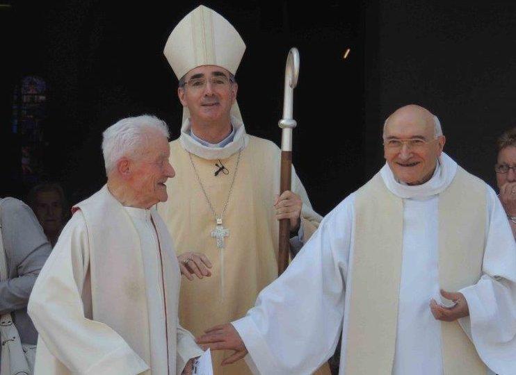 Hommage au père Michel Saint Gérand