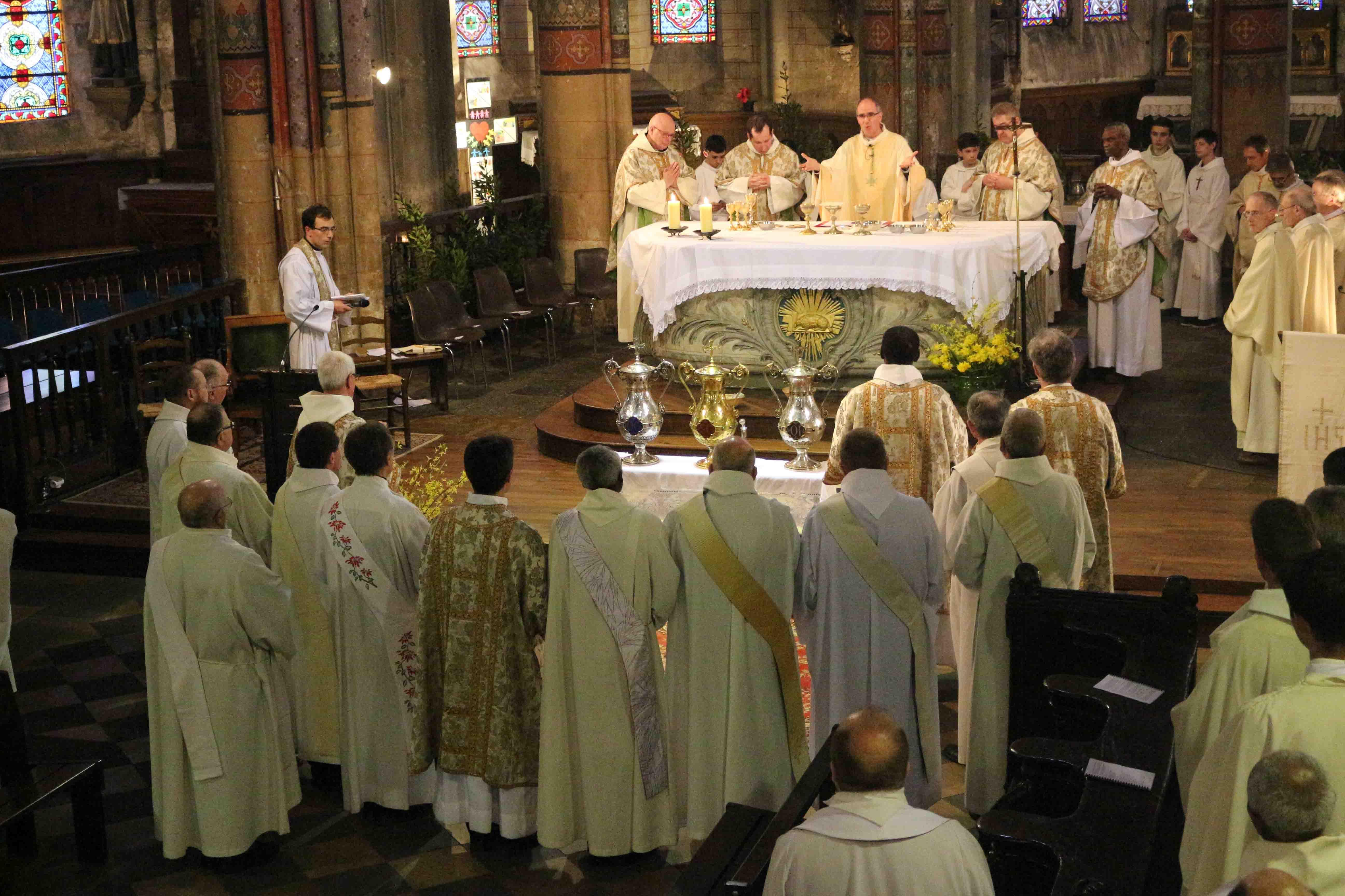 La messe Chrismale