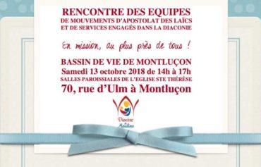 RENCONTRE DES EQUIPES MOUVEMENTS D'APOSTOLAT