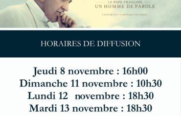 """CINEMA """"Le Pape François un homme de parole"""""""