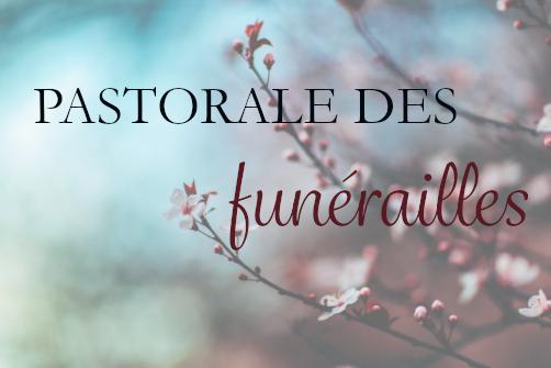 Pastorale des Funérailles - formation 3ème année