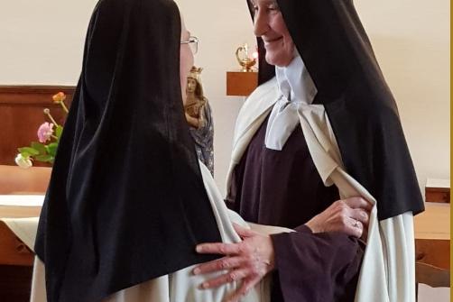 Election au Carmel de Moulins
