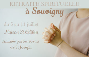 Retraite spirituelle de 5 jours à Souvigny