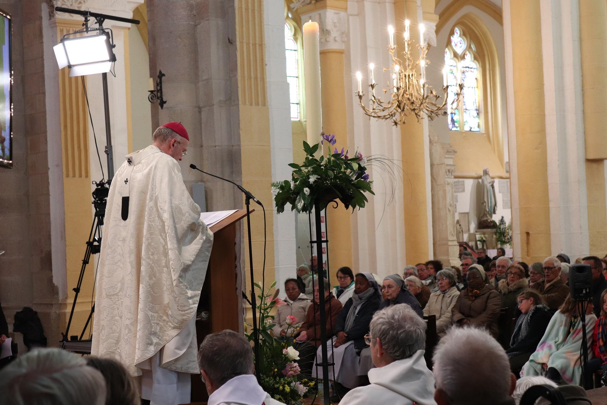 Homélie de Monseigneur François Kalist - Pèlerinage de la Paix -