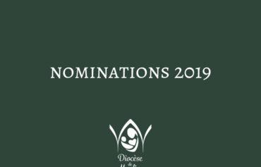 Nominations complémentaires 2019