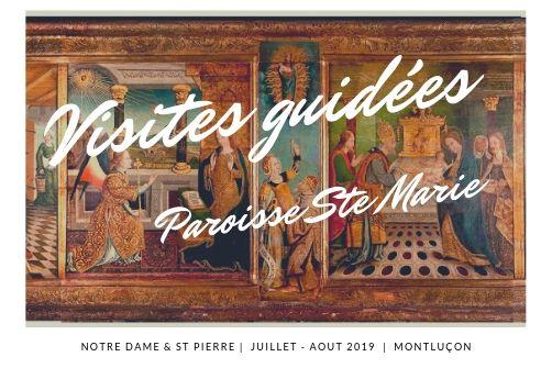 Visite guidée : Paroisse Ste Marie de Montluçon