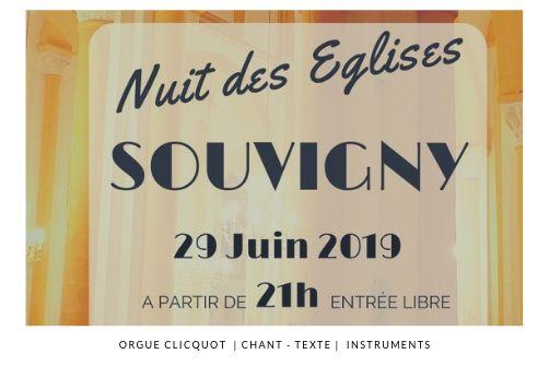 Nuit des églises Souvigny