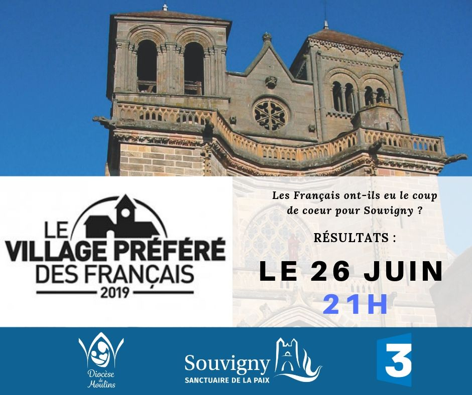 """SOUVIGNY est-il """"Le village préféré des français"""" ?"""