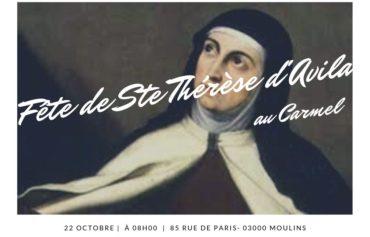 Fête de Sainte Thérèse d'Avila au Carmel