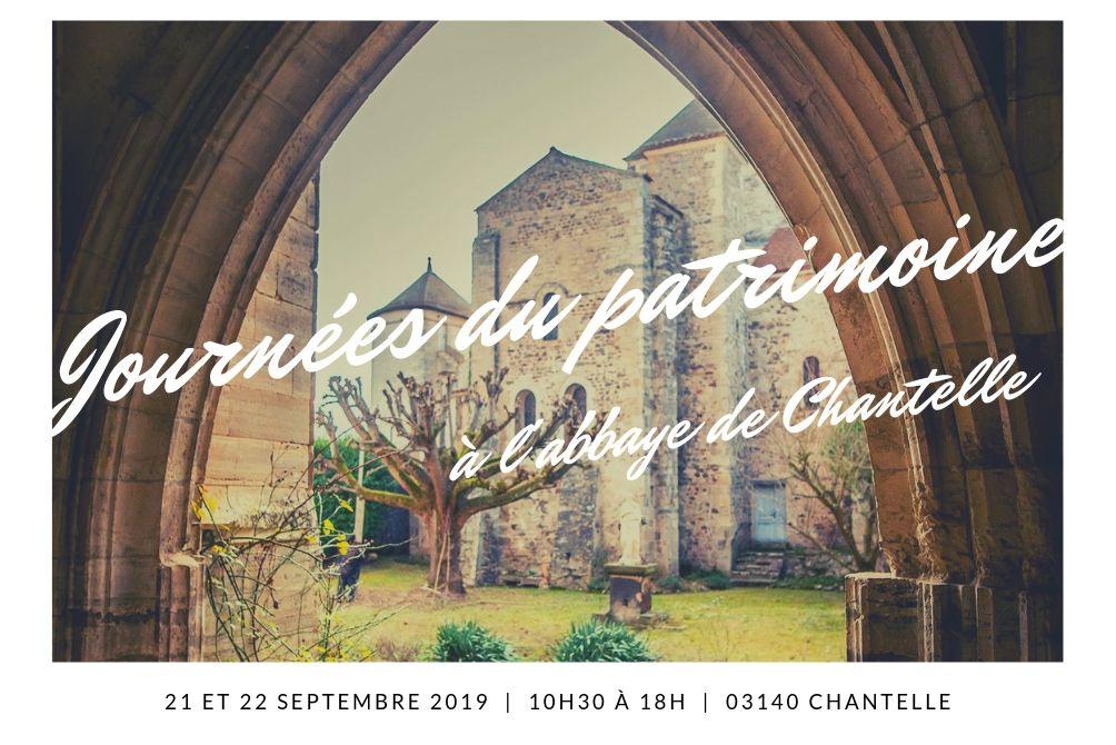 Journées du patrimoine à l'abbaye de Chantelle