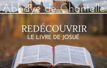 REDÉCOUVRIR LE LIVRE DE JOSUÉ A CHANTELLE
