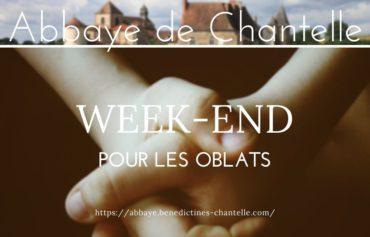 WEEK-END OBLATS A CHANTELLE