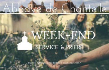 WEEK-END SERVICE & PRIÈRE A CHANTELLE