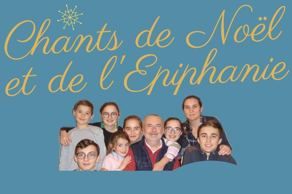 CHANTS DE NOËL & DE L'ÉPIPHANIE POUR LE DENIER DE L'ÉGLISE