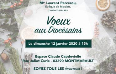 VŒUX AUX DIOCÉSAINS DE MGR LAURENT PERCEROU