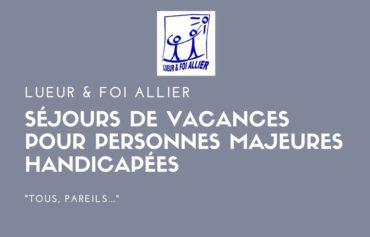 Séjours DE VACANCES POUR PERSONNES MAJEURES HANDICAPÉES
