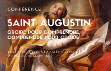 Conférence sur Saint Augustin