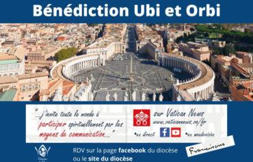 Covid-19 : Bénédiction Ubi et Orbi en direct