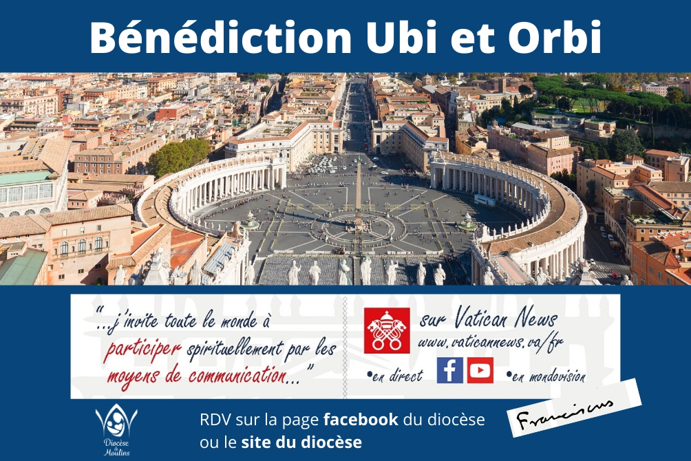 Covid-19 : Bénédiction Ubi et Orbi en direct