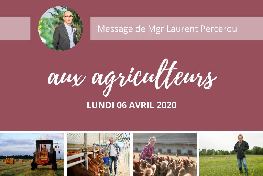 Covid-19 : Mgr Percerou rend hommage aux agriculteurs