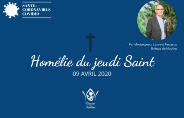Semaine Sainte : Homélie du Jeudi Saint