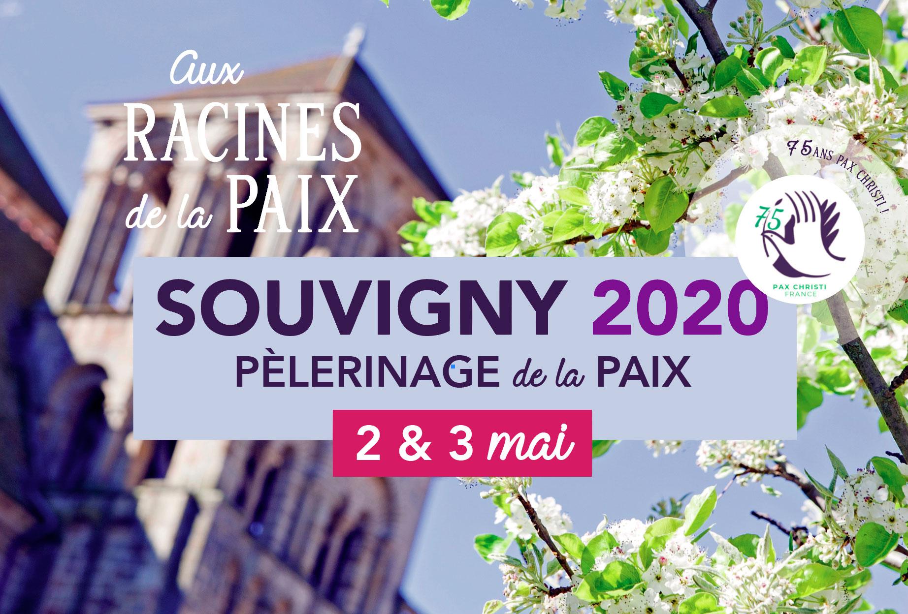 Le pèlerinage de la Paix 2020 à Souvigny, autrement