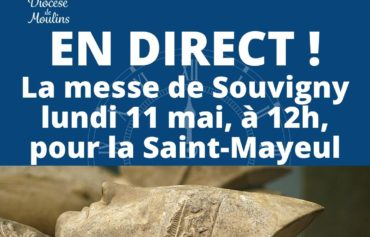 Messe à Saint Mayeul, le 11 mai, en direct !