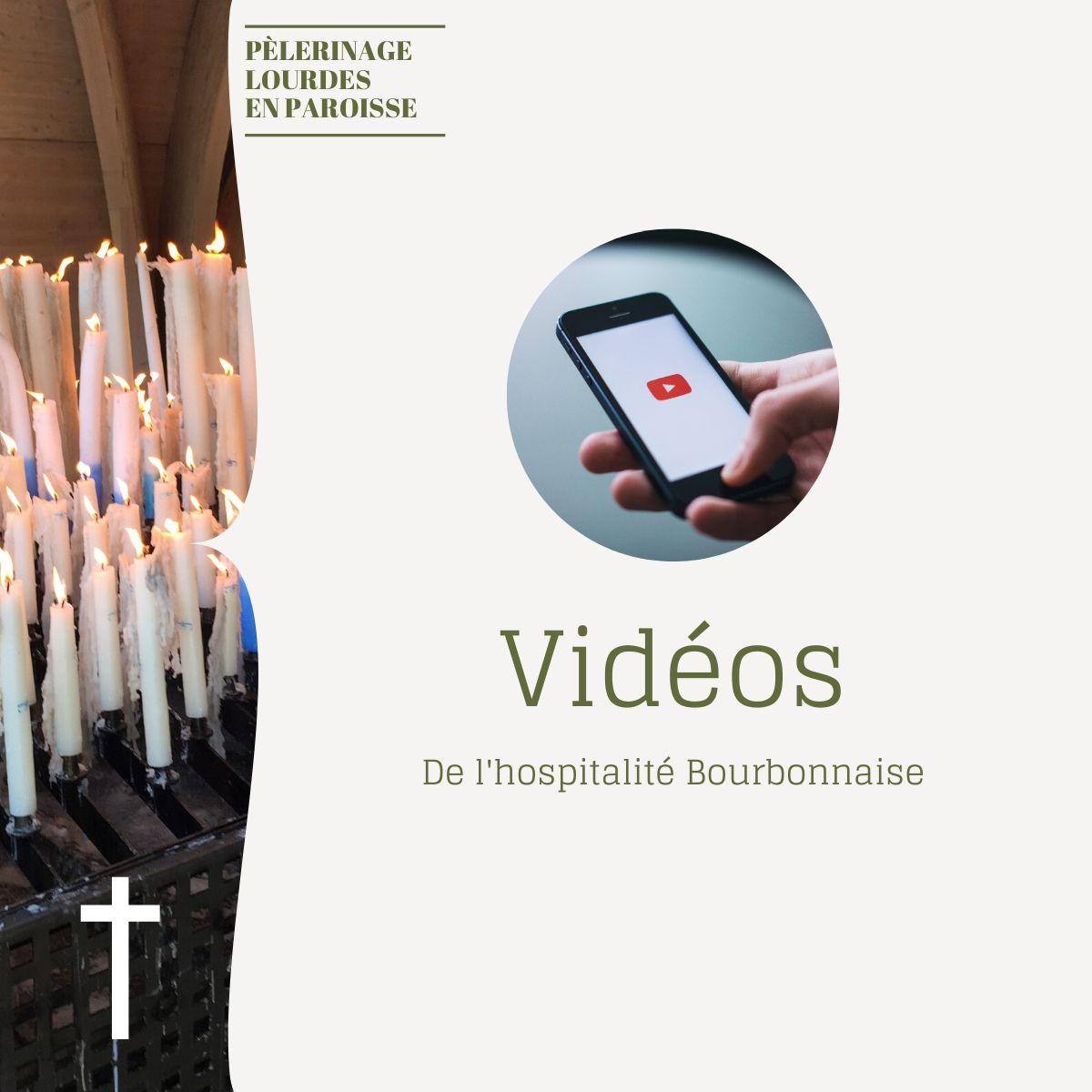 Pèlerinage de Lourdes en paroisse : Vidéos de l'Hospitalité Bourbonnaise