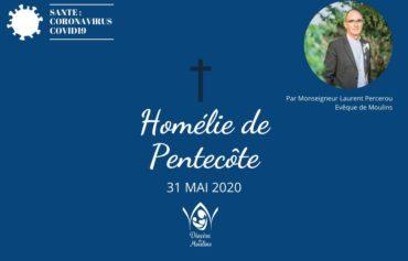 Homélie de Pentecôte – 31 mai 2020