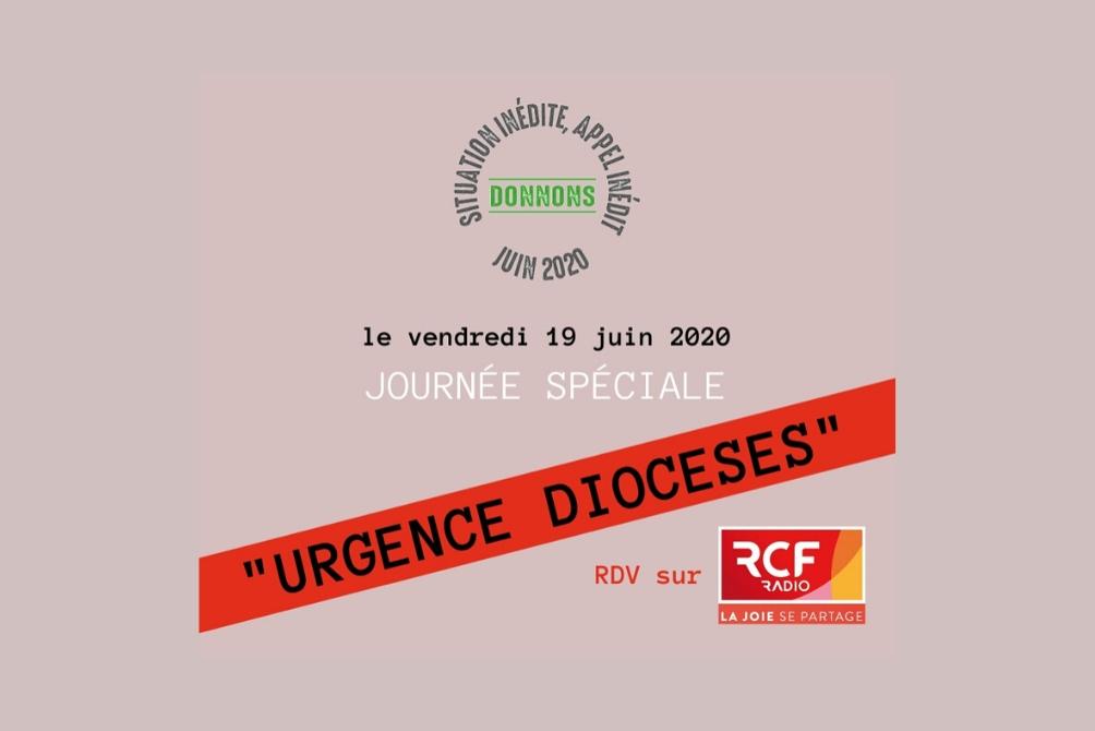Urgence diocèses : Journée spéciale sur RCF !