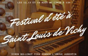 Festival d'été à l'église Saint Louis de Vichy