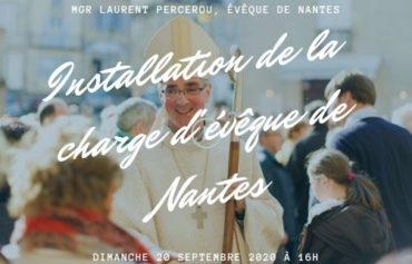 Mgr Laurent Percerou  : installation dans sa charge d'évêque de Nantes