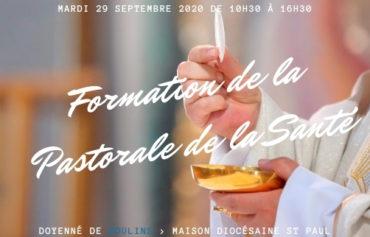FORMATION PASTORALE DE LA SANTE