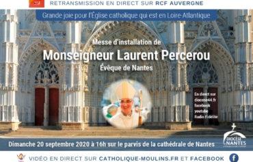 Messe d'installation de Mgr Percerou à Nantes