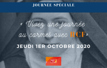 """JOURNEE SPECIALE """"STE THERESE"""" SUR RCF ALLIER"""