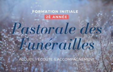 Pastorale des funérailles : 2è année – ANNULE