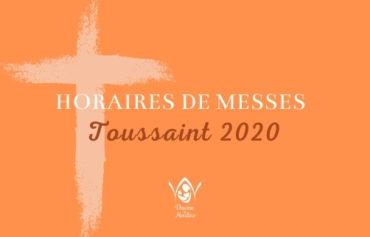 Horaire des messes de la Toussaint 2020