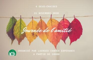 ANNULÉ – Lourdes Cancer Espérance