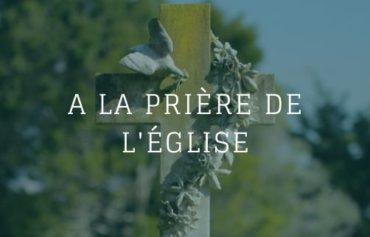 A la prière de l'Eglise – Père Raymond Barnier –