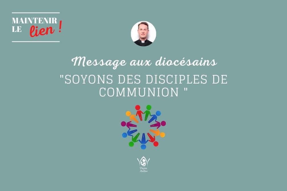 Soyons des disciples de communion