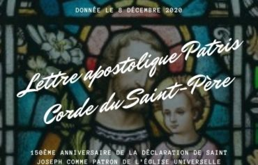 Lettre apostolique Patris Corde du Saint-Père