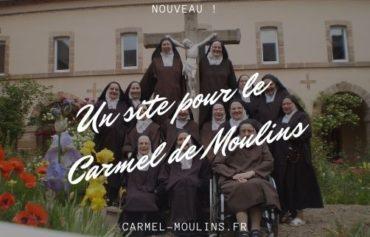 Le Carmel de Moulins inaugure son site internet !
