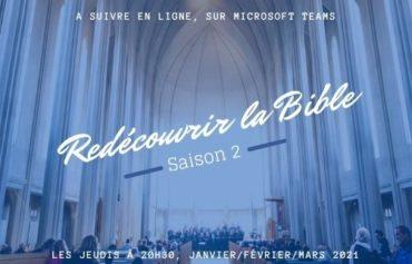 Redécouvrir la Bible – Saison II