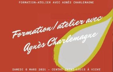 Formation/atelier avec Agnès Charlemagne