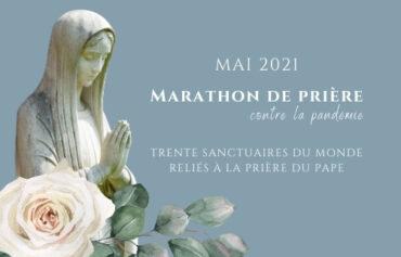 Marathon de prière du Pape François