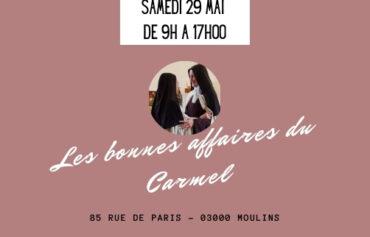 Les bonnes affaires du Carmel de Moulins