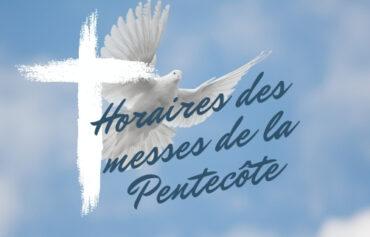 Messes de la Pentecôte 2021